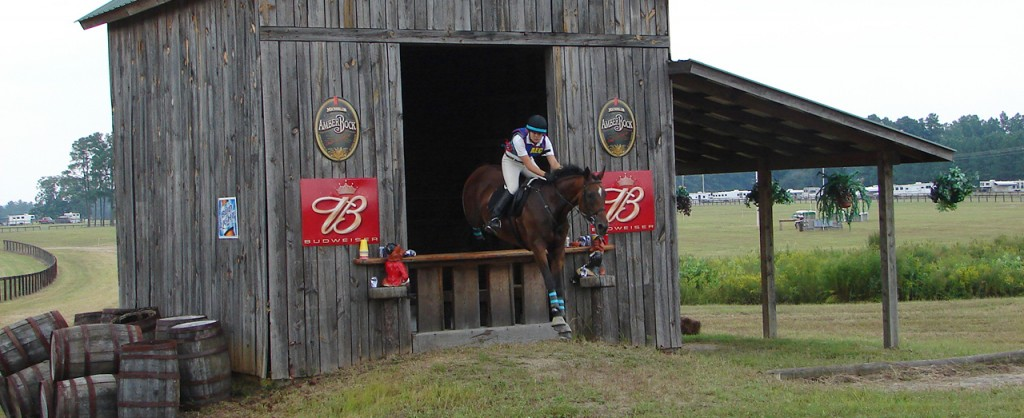 Maura Teal competing at the 2006 American Eventing Championships